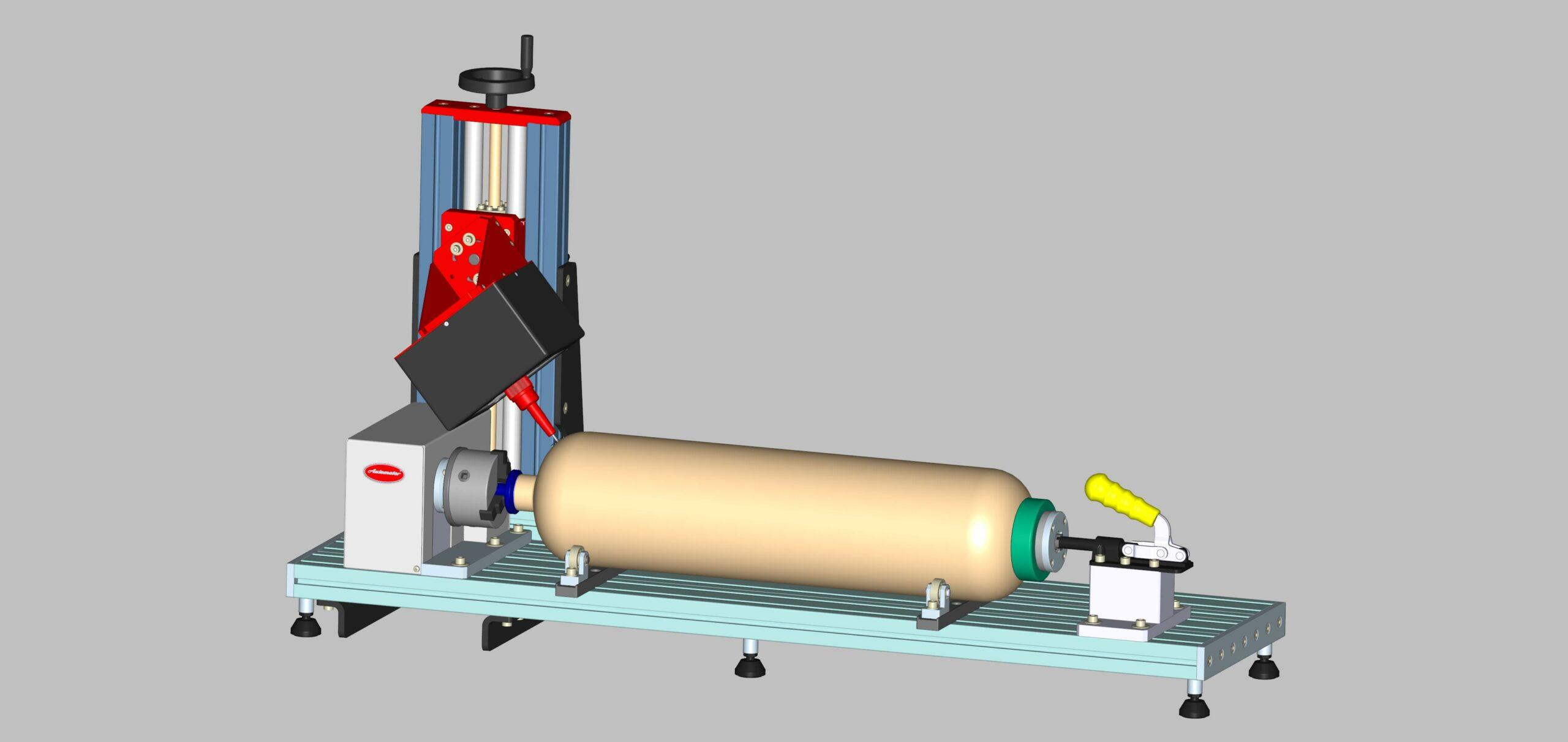 3D установка за точково маркиране